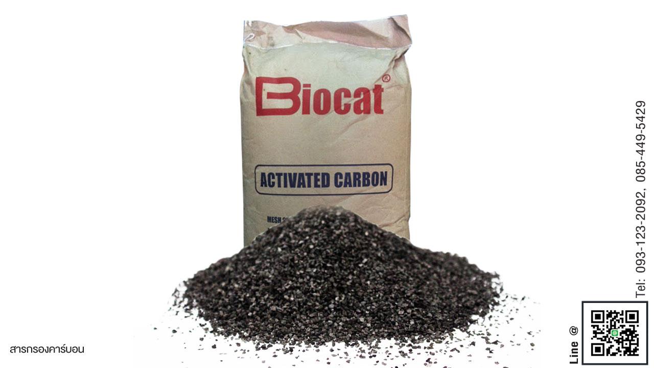 สารกรองน้ำคาร์บอน ID600 Biocat รุ่น BC 600 (830)